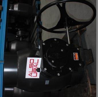 Кран шаровой приварной КШ.П.600.16-01 Ду600 Ру16